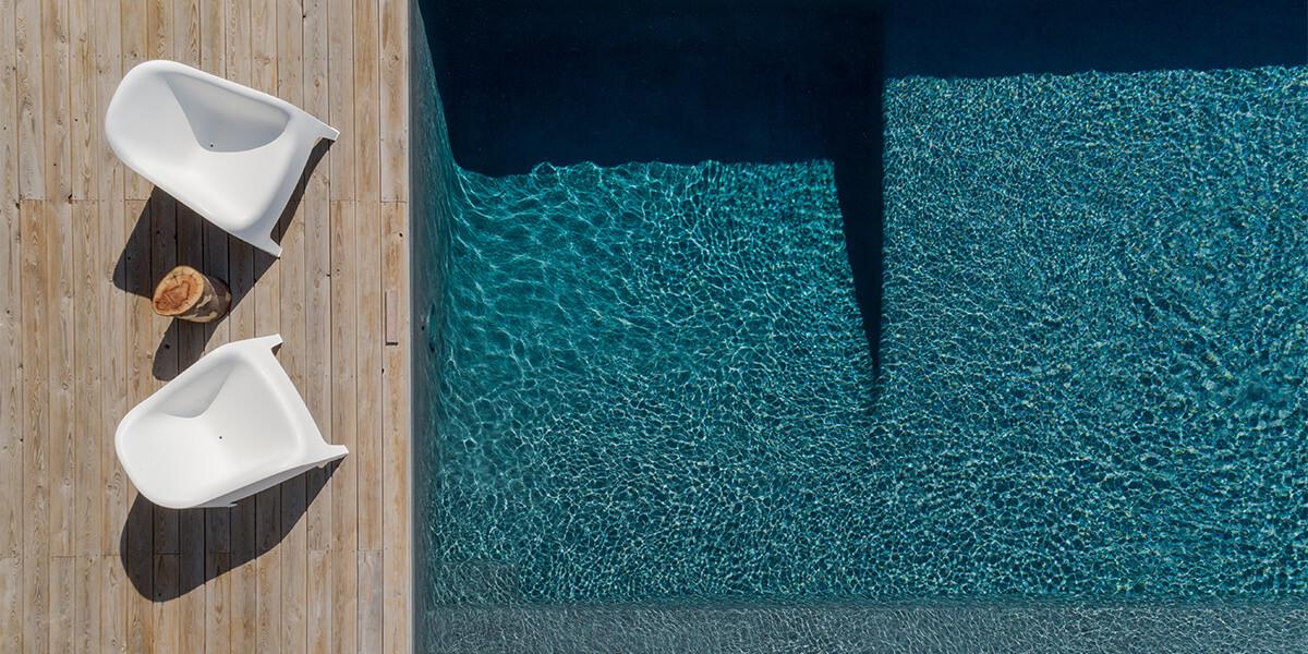 magnifique piscine enterrée
