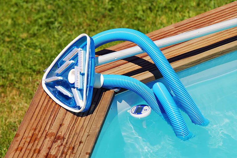 nettoyeur à aspiration pour piscine hors-sol