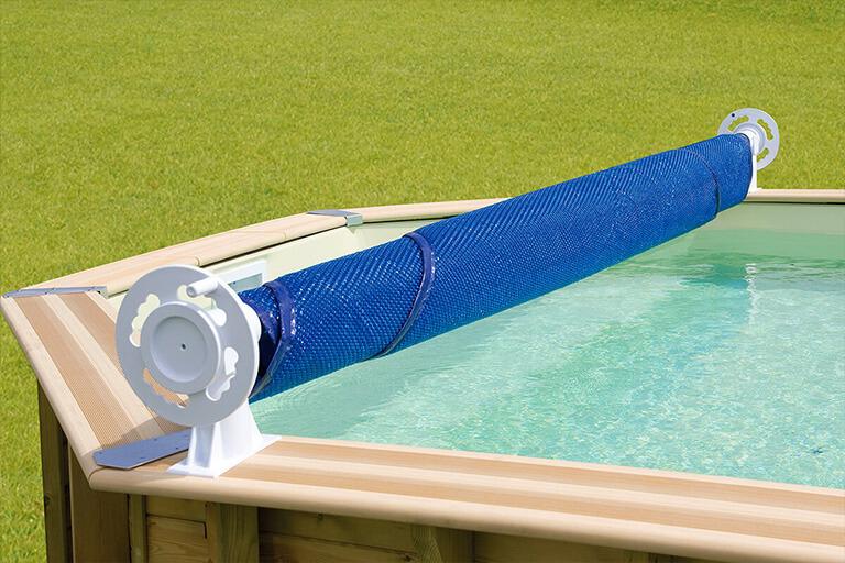 bâche à bulles pour piscine hors-sol