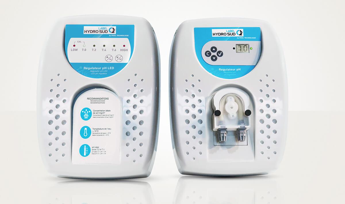 Régulateur automatique de pH Label HydroSud