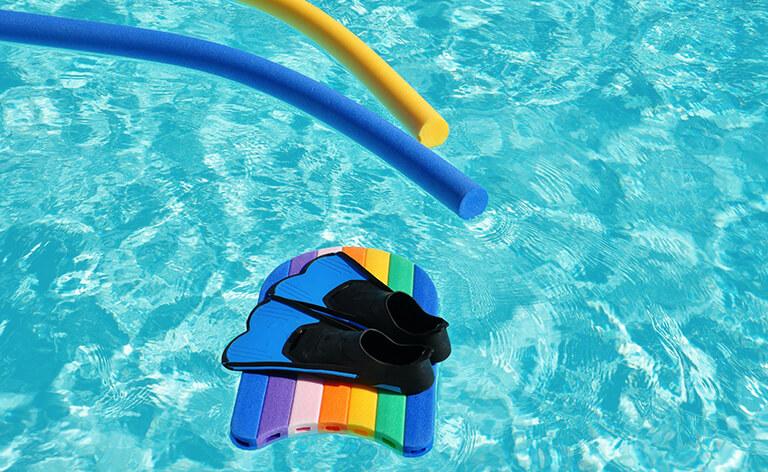 Accessoires nécessaires pour de l'aquagym